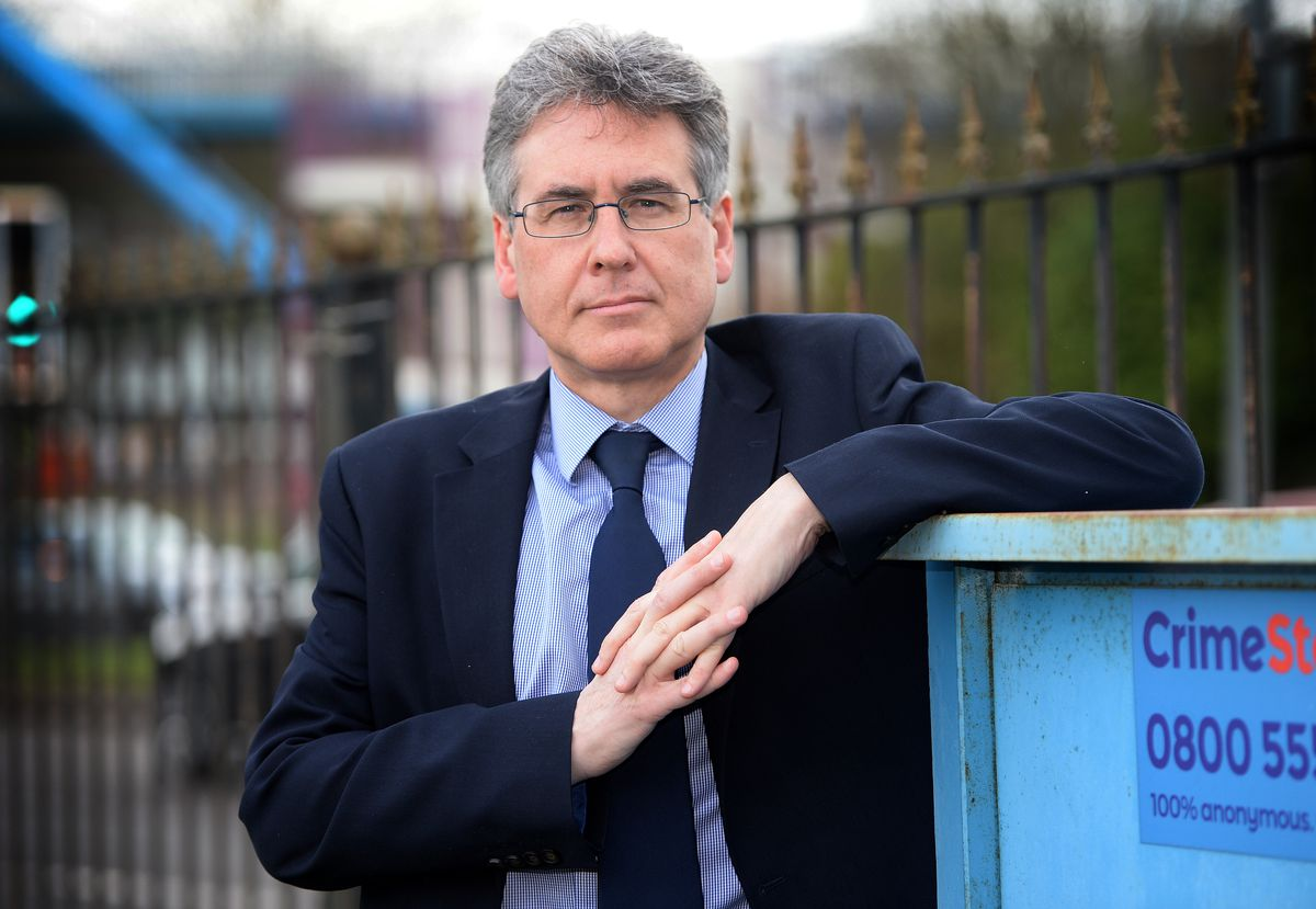 Simon Foster, Labour's candidate to replace David Jamieson as West Midlands PCC