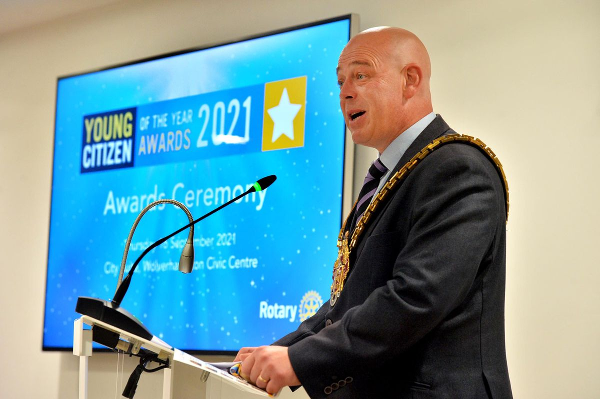 Mayor Councillor Greg Brackenridge hosted the awards at the Civic Centre