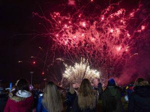 Wolverhampton Racecourse fireworks 2019. Photo: Wolverhampton Council