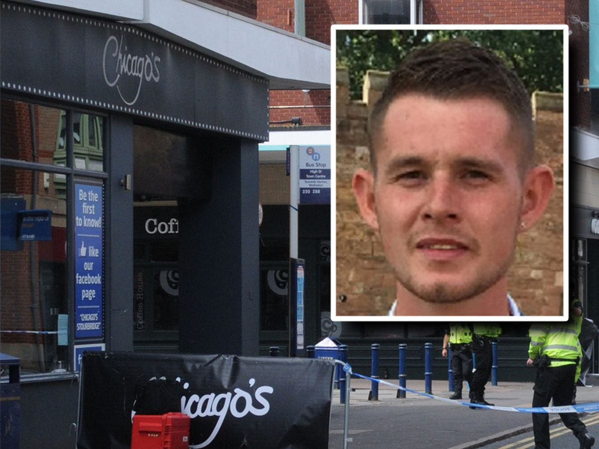 Ryan Passey died after being stabbed at Chicago's in Stourbridge