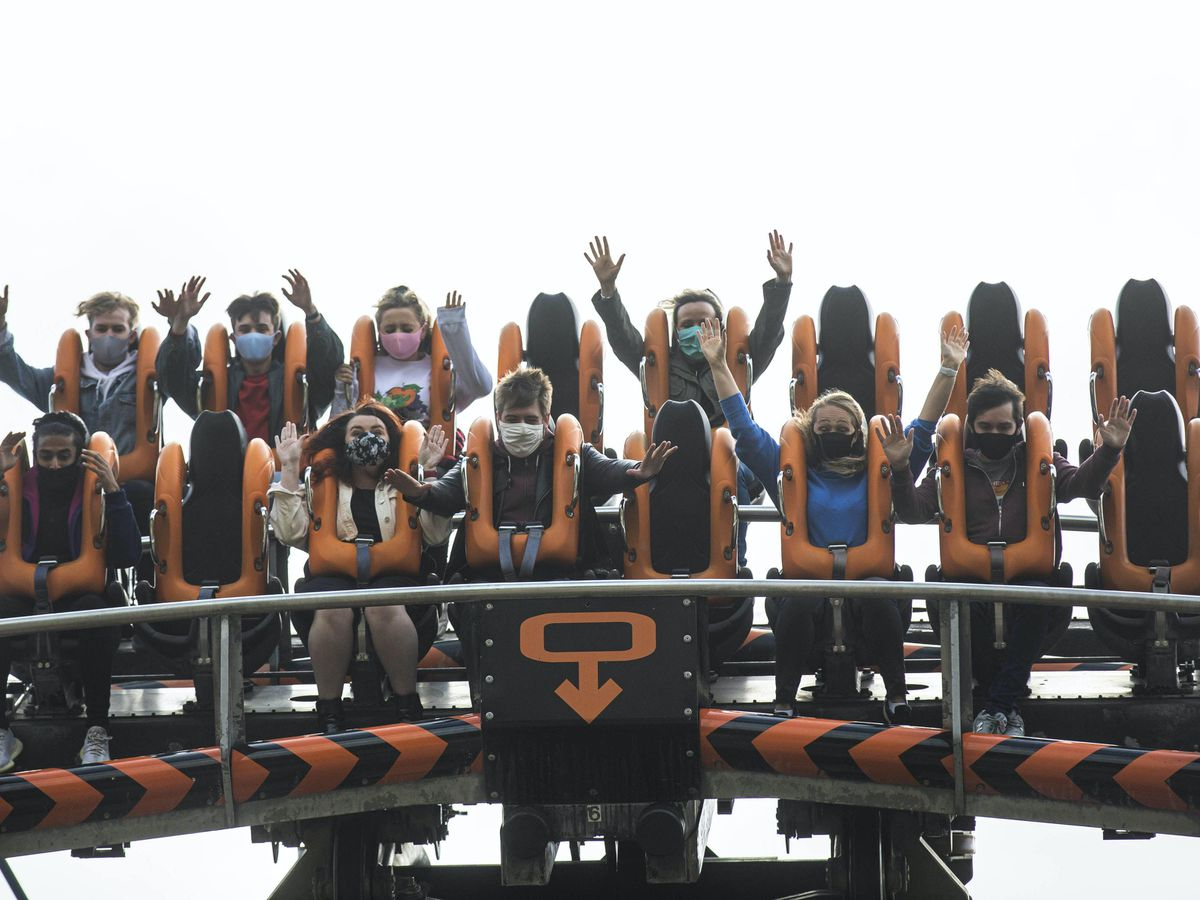 Riders take the plunge on Oblivion