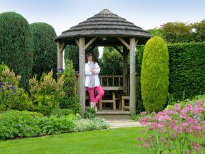 Karen Tatlow, from New Fulfen Cottage, Whittington, looks forward to the Whittington open gardens event