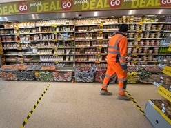 What measures are supermarkets taking to keep customers safe?