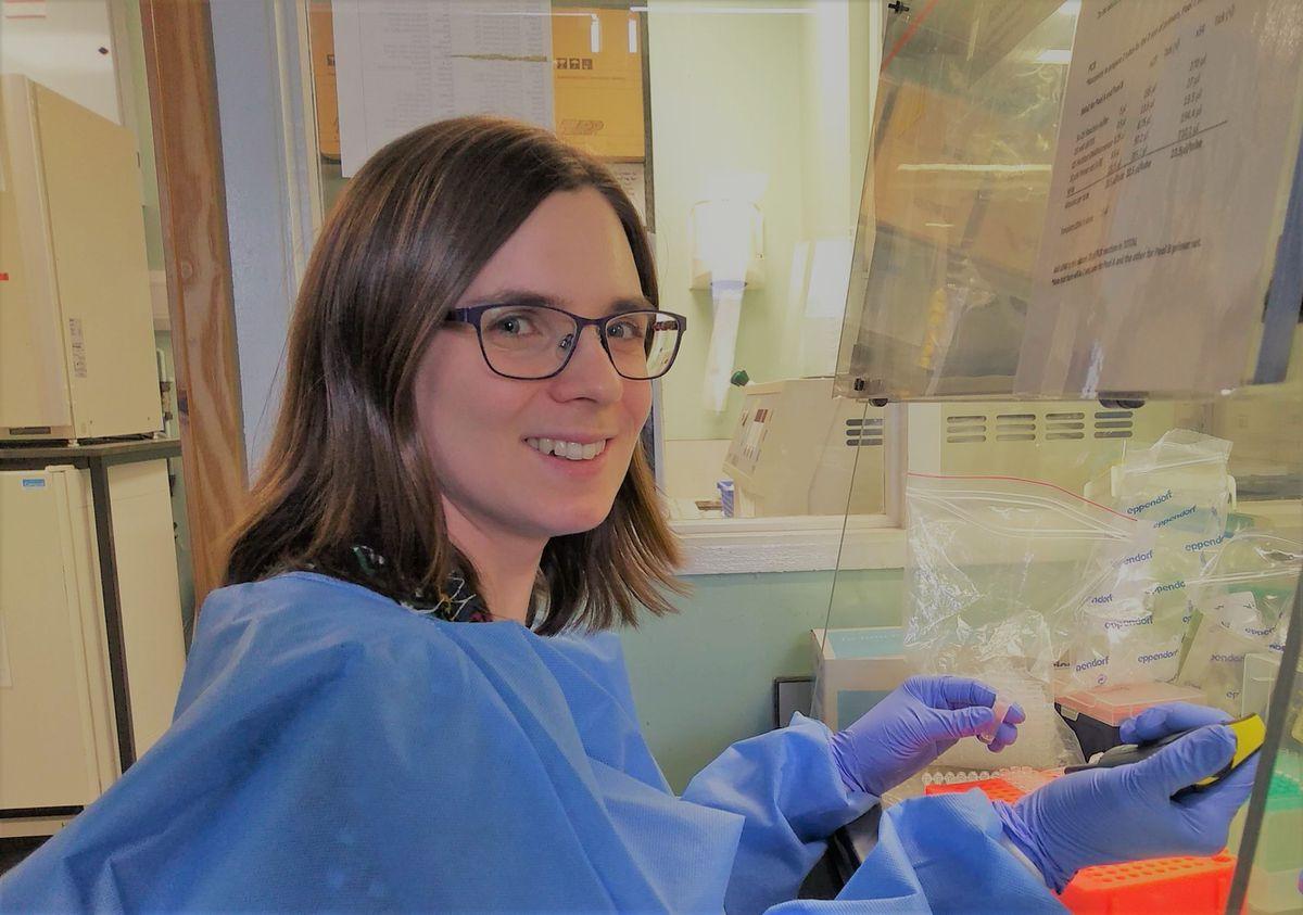 Dr Charlotte Houldcroft. Photo: Dr Charlotte Houldcroft