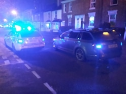Stourbridge armed police drama: Officer tasers burglary suspect after chasing him in a taxi